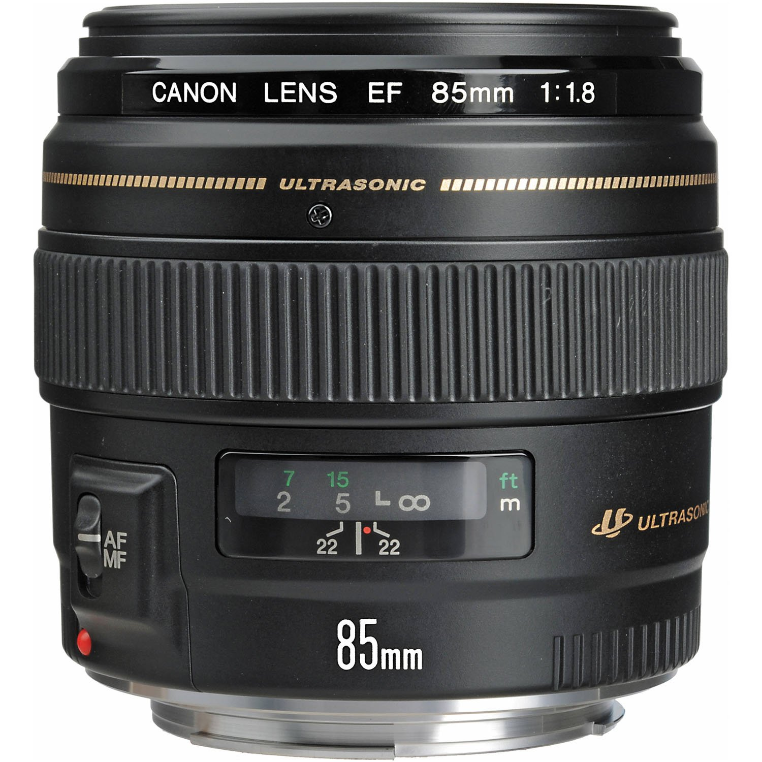 Canon EF 85mm f/1.8 USM Medium Telephoto Lens for Canon SLR Cameras - Fixed by Canon
