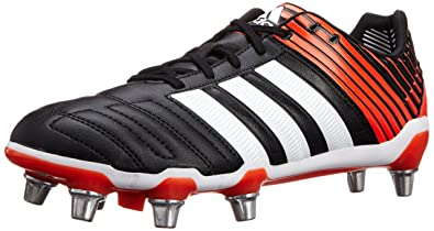new arrival c0619 97b22 adidas AW14 Adipower Kakari SG Rugby Boots - US 8.5 - BlackInfra Red