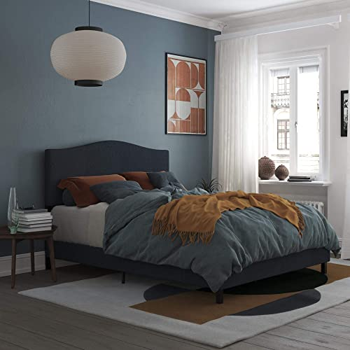 REALROOMS Mason Upholstered Panel Bed