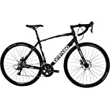 Tommaso Avventura - Shimano Sora Gravel Adventure Bike With Disc Brakes And Carbon Fork Perfect For Road Or Dirt Trail Touring, Matte Black