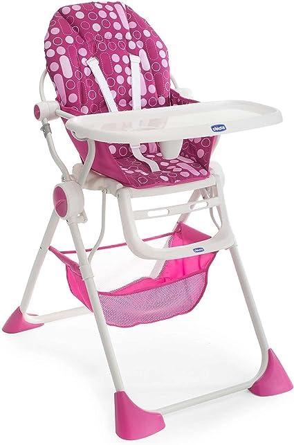 Chicco Pocket Lunch - Trona, color rosa: Amazon.es: Bebé