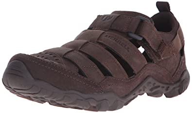 Merrell Men's Telluride Wrap Sandal, Clay, ...