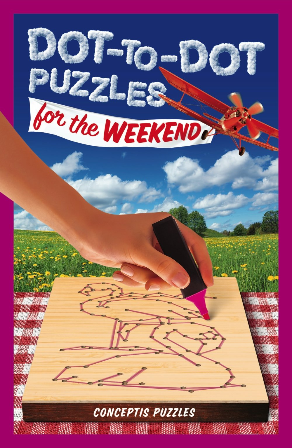 Dot-To-Dot Puzzles for the Weekend (Puzzlewright Junior Dottodot)