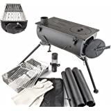 Comfort Wood Burning Stove Grill Heater Camping