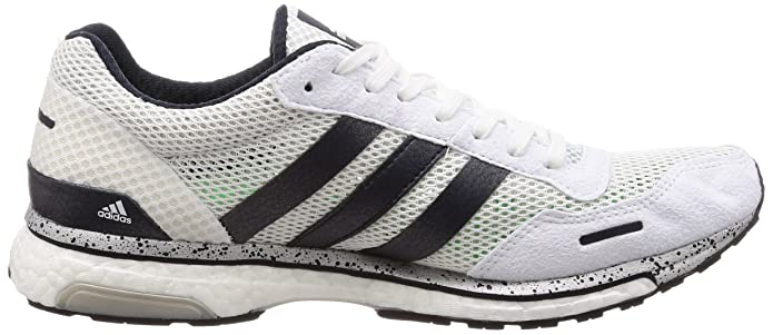 Amazon.com | adidas Adizero Adios 3 Boost Mens Running Shoes - White-10 | Running
