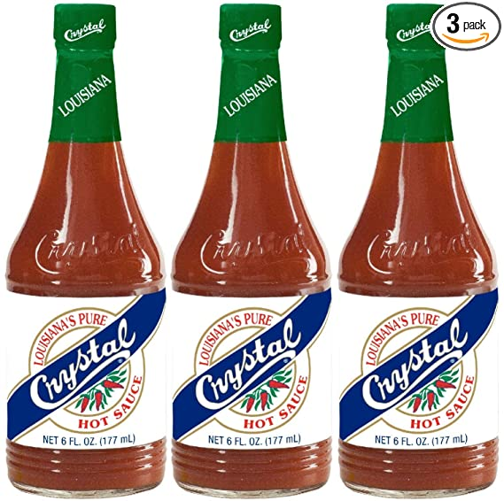Crystal Hot Sauce (priced as pack of 3)
