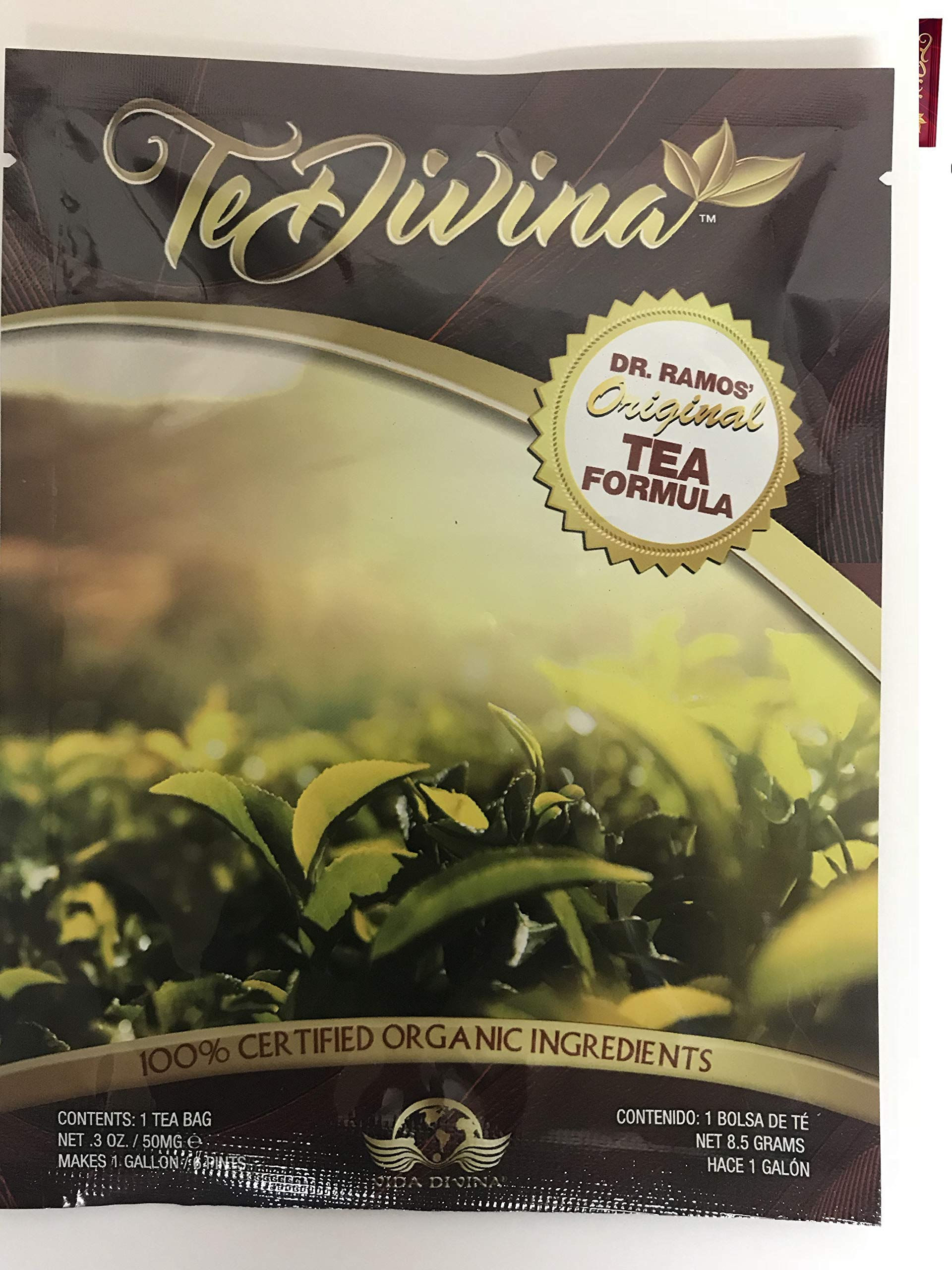Best Seller Authentic,In stock,TeDivina 6 weeks supply supply,coming back of the''ORIGINAL''detox tea, way more effective than iaso tea by Vida Divina Te Divina (Image #1)