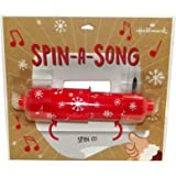 Hallmark Home Spin A Song Musical Toilet Paper Holder, Christmas