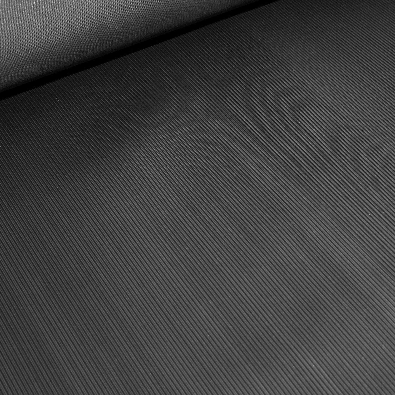 weniger Gummigeruch Gr/ö/ße w/ählbar 6m/² 1,2 x 5,00m Farbe: Schwarz St/ärke: 3mm Feinriefenmatte Premium