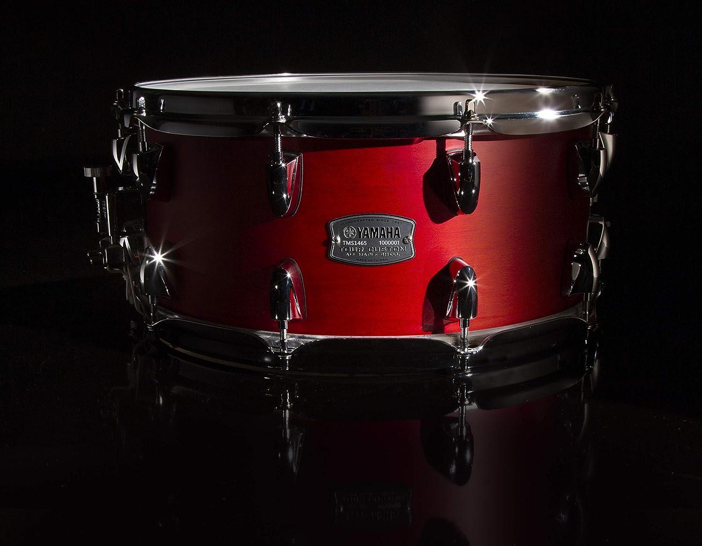 Candy Apple Satin Yamaha Tour Custom Maple 14 x 6.5 Snare Drum