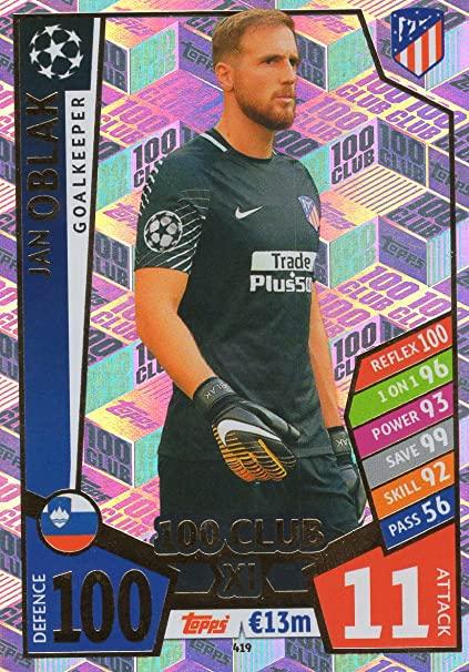 Match attax 2016//17 champions league barcelone et real madrid cartes