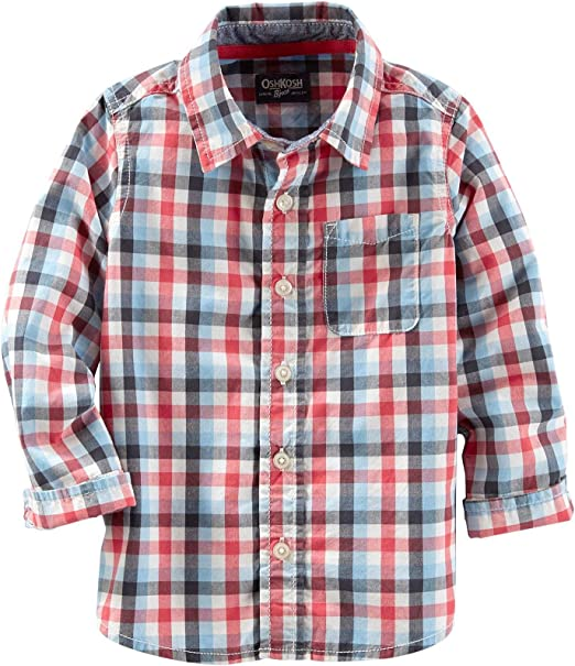 OshKosh BGosh Girls Woven Buttonfront 31412211