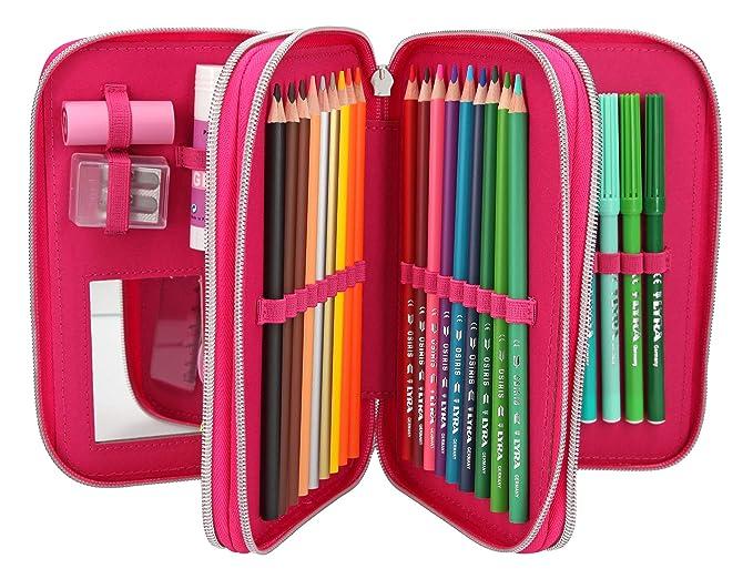 Amazon.com: Depesche TopModel Alpaca 10356 Pencil Case 3 ...