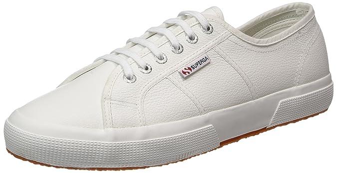 Superga 2750 Efglu, Baskets Femme, Weiß (White), 47 EU