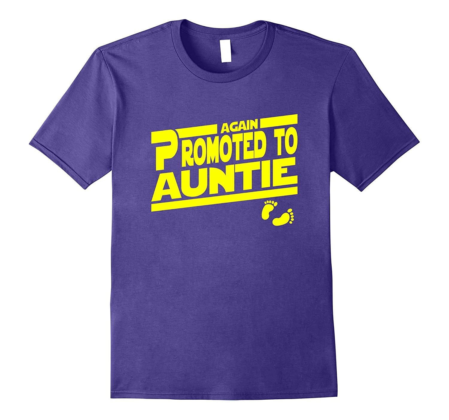 Promoted To Auntie Again Shirt Aunt-TJ