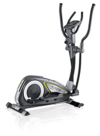 Kettler Cross Trainer Axos Cross M – Bicicleta estática con ordenador de entrenamiento, Pulso Cuchillos