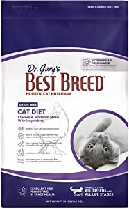 Best Breed Grain Free Cat Diet Made in USA [Natural Dry Dog Food For All Ages]