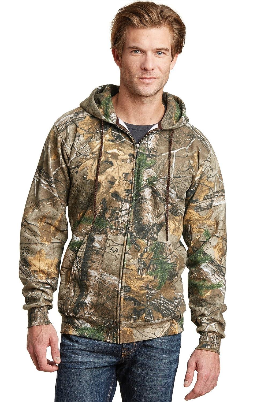 7184484b Sports & Outdoors Code V Realtree Zipper Hooded Sweatshirt