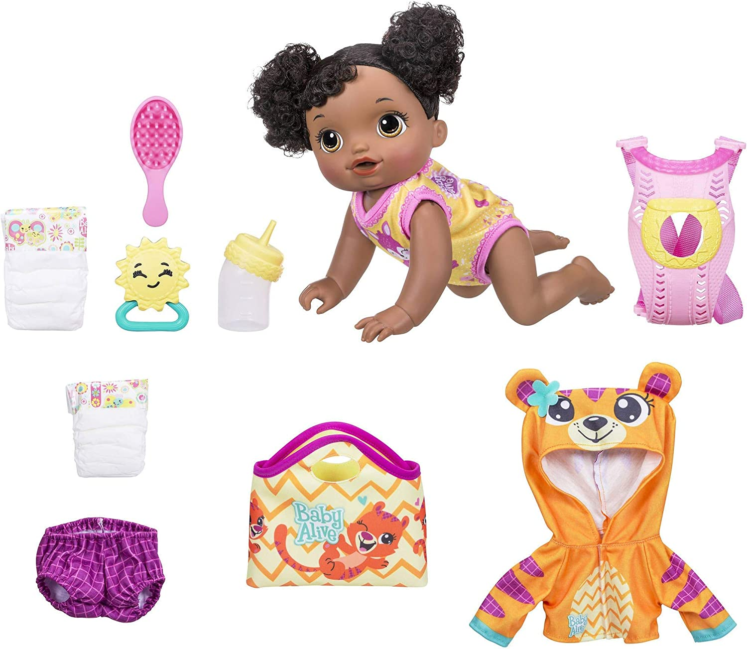 African American Baby Alive Baby Go Bye Bye