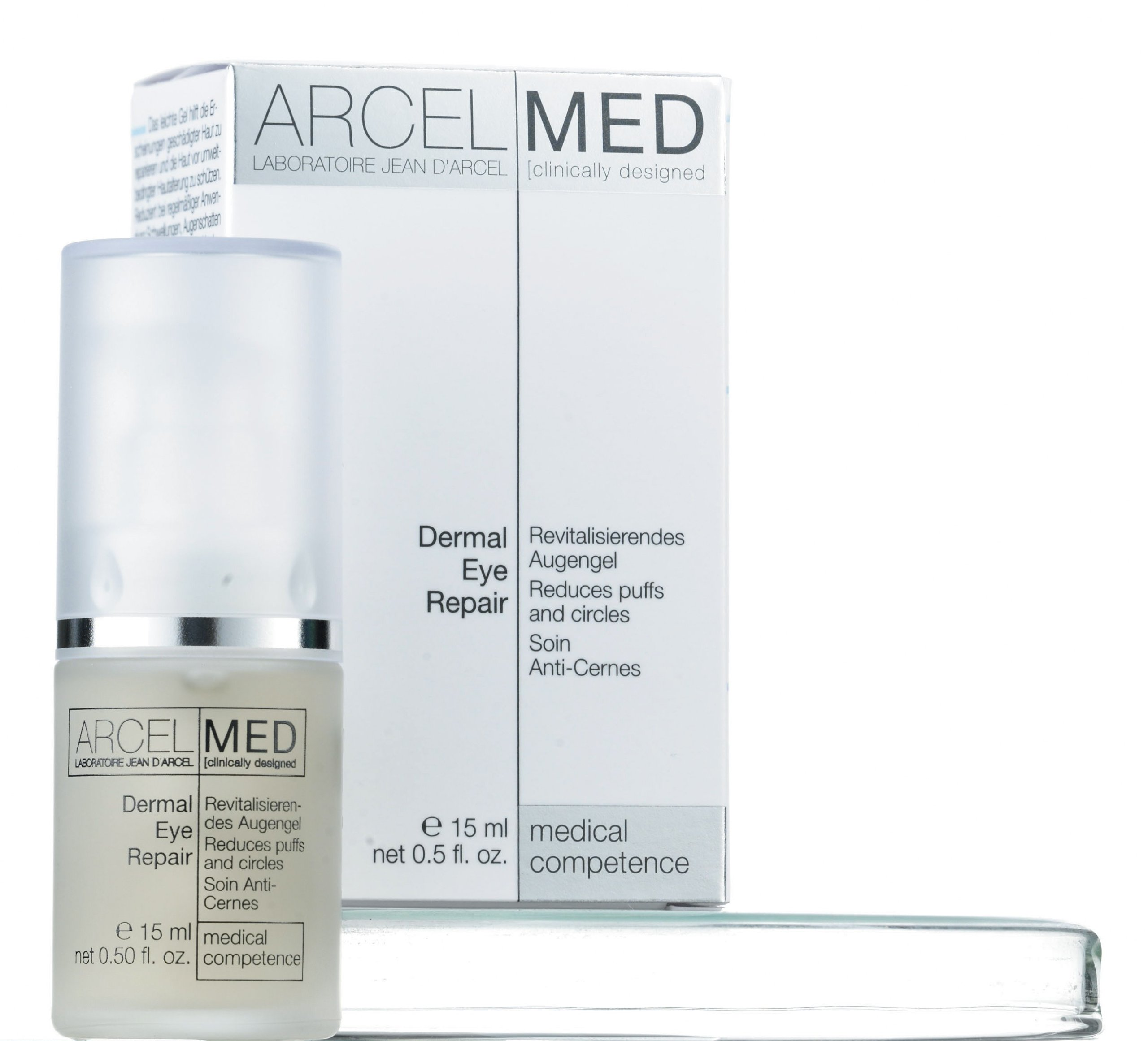 ARCELMED Laboratoire Jean D'Arcel Dermal Eye Repair Gel, 15 ml / 0.5 fl.oz.