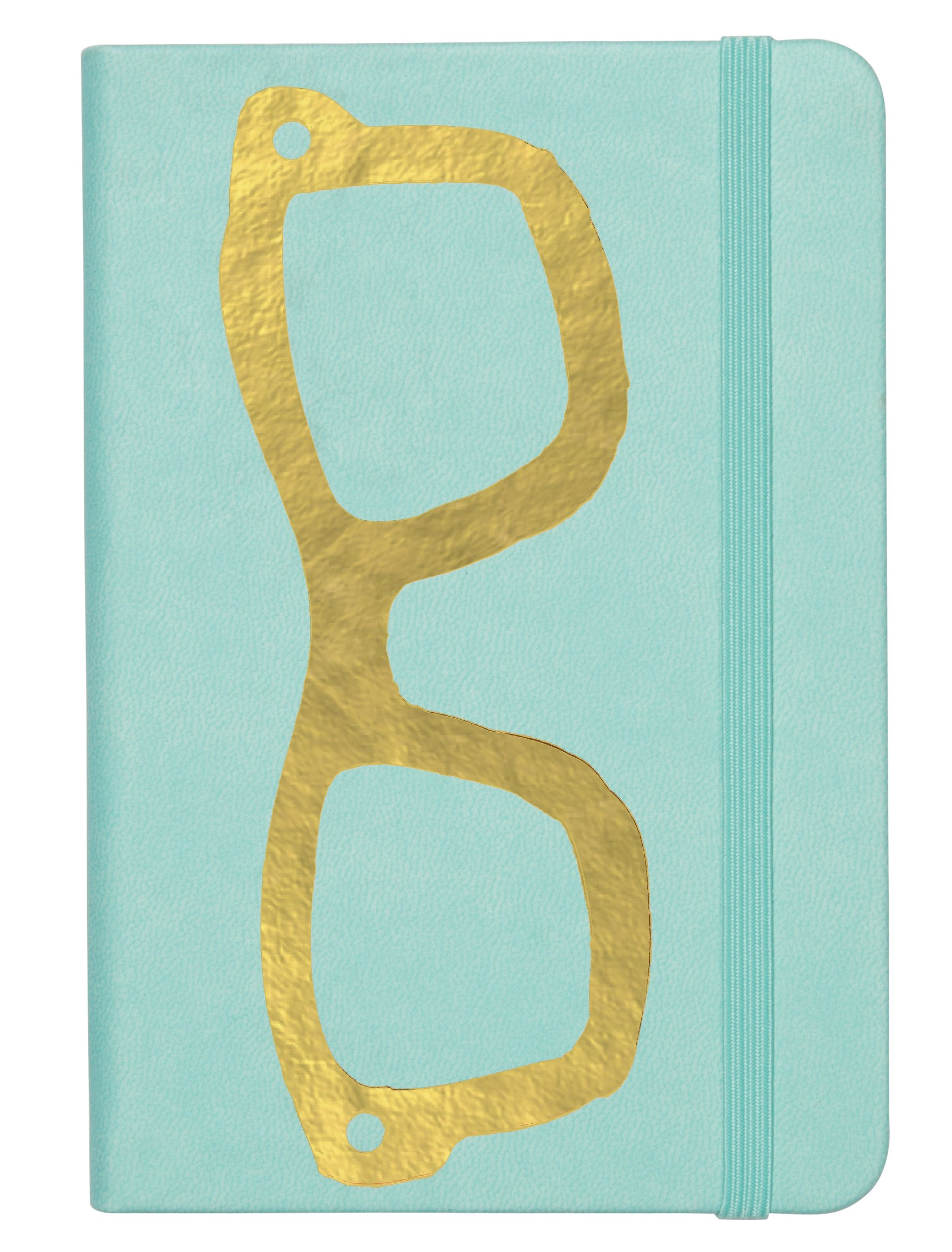 C.R. Gibson Password Log Book, Space for 576 entries, 3 entries per page, Measures 3.5'' x 5.5'' - Glasses