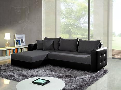 Divano Nero Moderno : Ariel grigio scuro nero esclusivo moderno divano divano divano