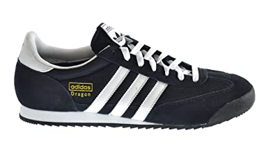 adidas Originals Dragon Men's Running Sneakers Black/Running White/Gold g16025 (10 D