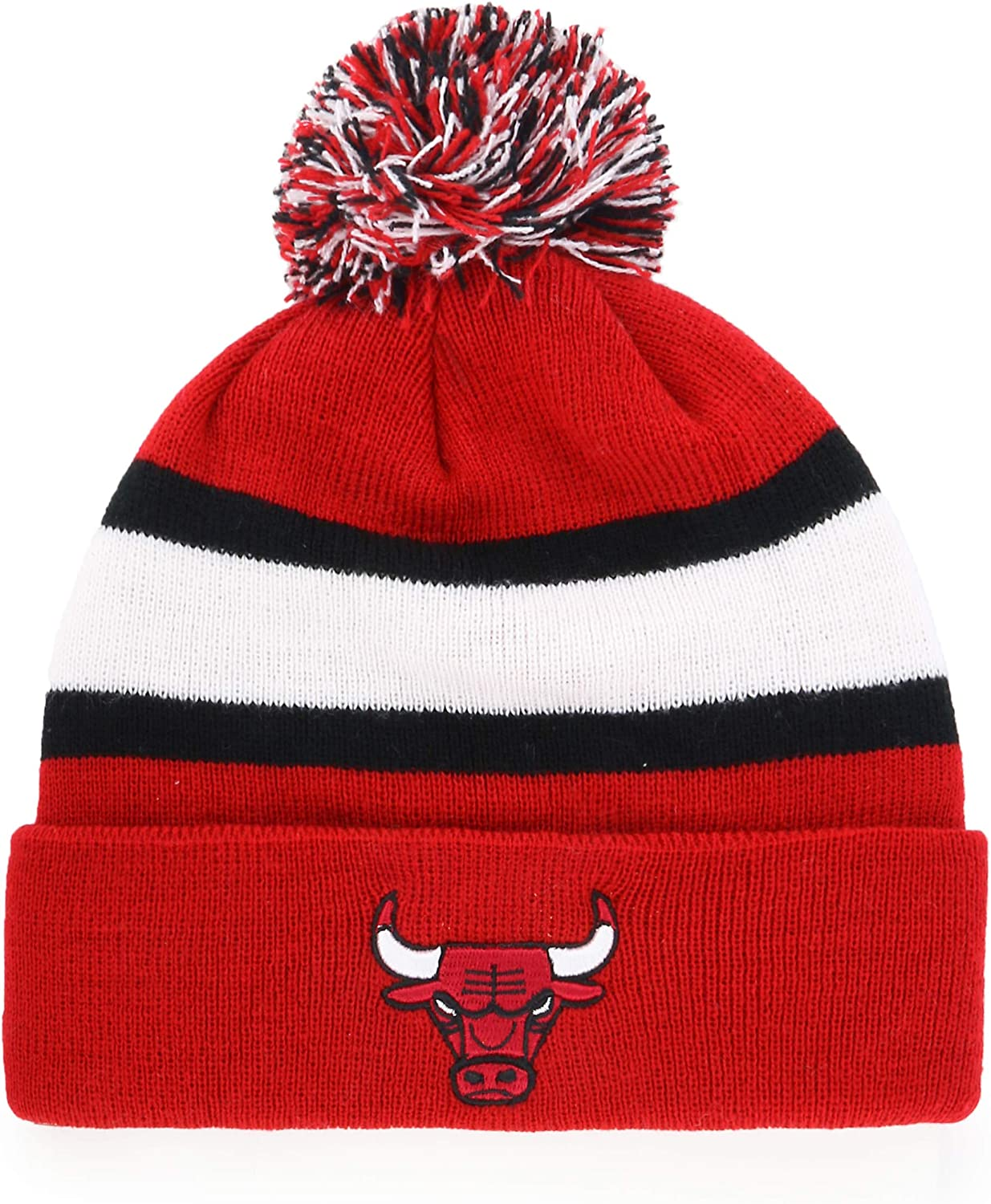 OTS NBA Youth Rush Down Cuff Knit Cap with Pom
