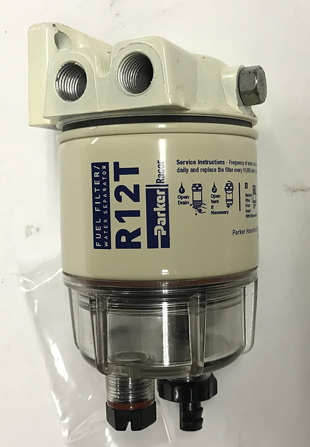 A 120at Parker Racor Fuel Filter Water Separators Amazon Canada
