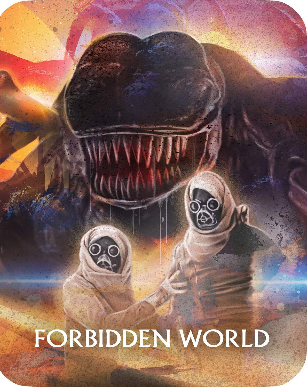 Forbidden World (Limited Edition Steelbook) [Blu-ray]