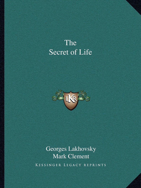 The Secret of Life pdf