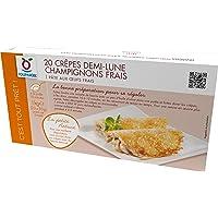 TOUPARGEL - Crêpes demi-lune champignons frais - 20 x 50 g - Surgelé