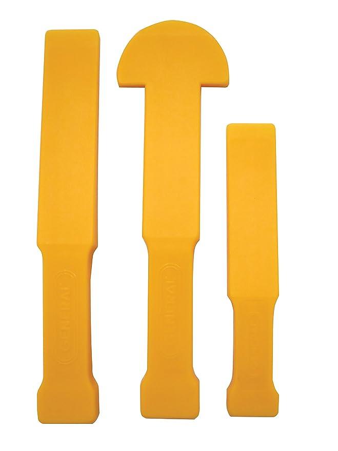 General Tools 815 EdgeWedge Flexible Pry Bar Tool Kit (3 Piece)