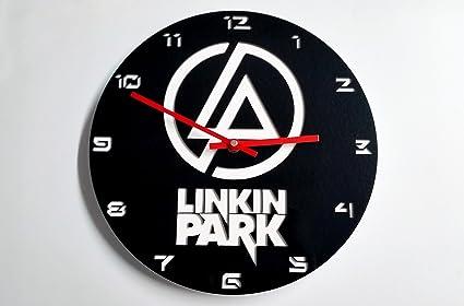 Reloj de pared original de Linkin Park, metacrilato, silencioso, moderno