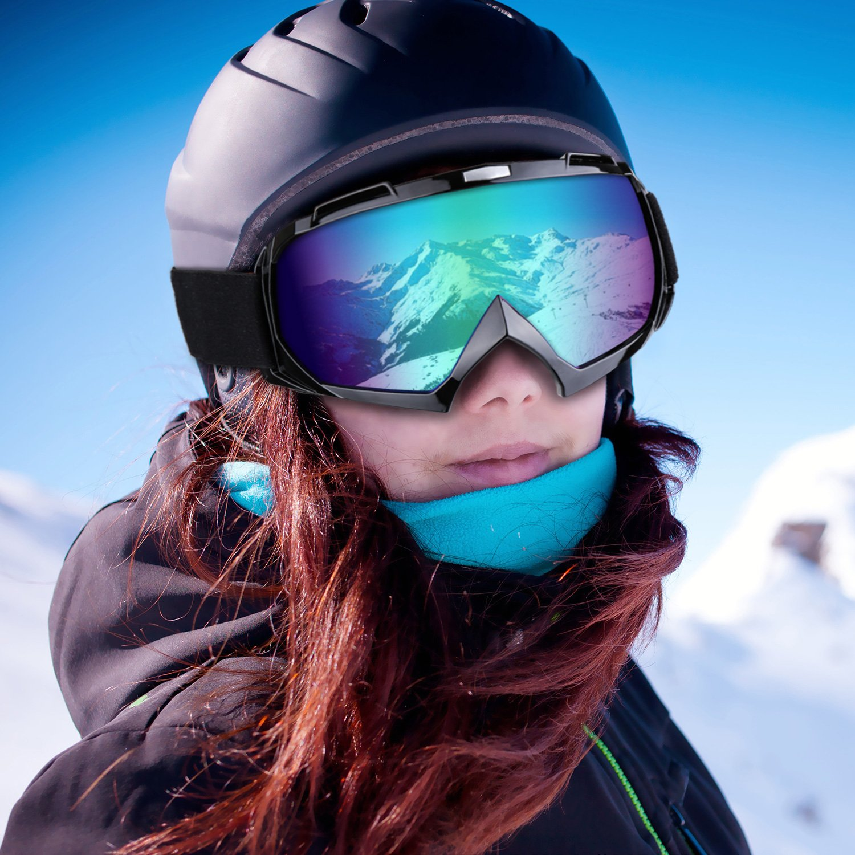 Motorcycle Goggles Anti UV Anti Fog Dustproof ATV Motocross Riding Glasses by CarBoss (Image #6)