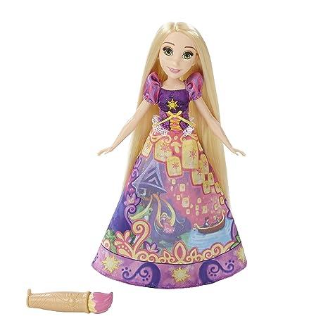 Disney Princess Rapunzel Gonna Magica Amazon It Giochi E Giocattoli