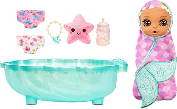 Amazon.com: Baby Born Surprise Mermaid Surprise – Baby Doll with Purple Towel and 20+ Surprises, Multicolored: Toys & Games