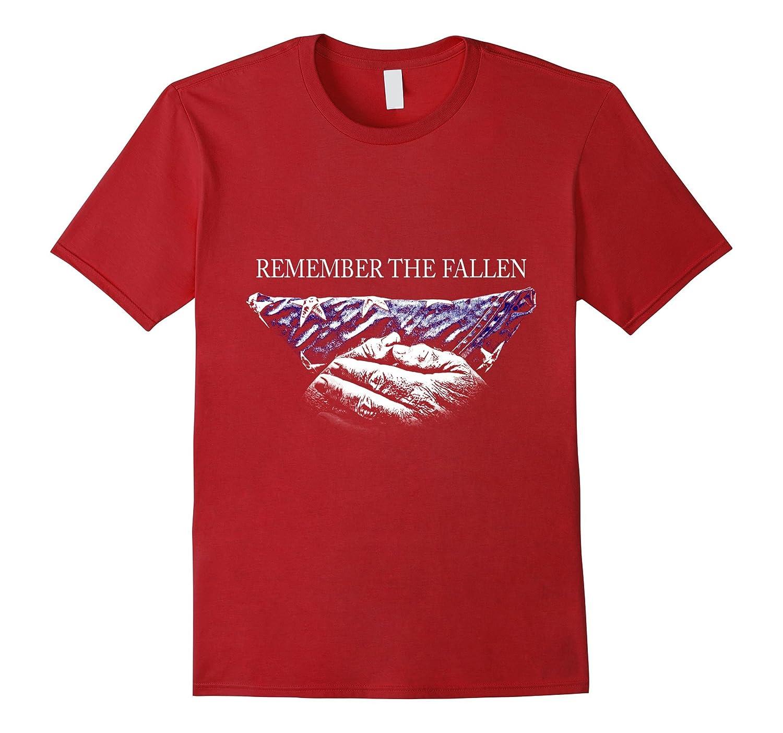 Veterans T shirts - Remember the fallen-RT