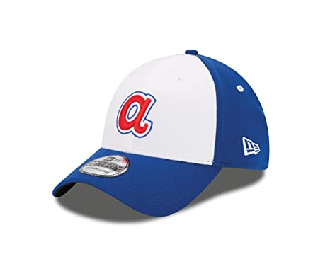 c6e485661ce New Era MLB Atlanta Braves Team Classic 39THIRTY Stretch Fit Cap Cooperstown