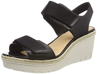 fcc5a1ed4e1 Clarks Women s s Palm Shine Ankle Strap Sandals  Amazon.co.uk  Shoes ...
