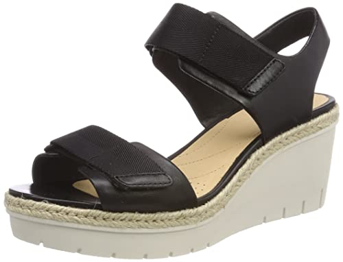 6645fa262ae12 Clarks Women s s Palm Shine Ankle Strap Sandals  Amazon.co.uk  Shoes ...