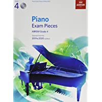 Piano Exam Pieces 2019 & 2020, ABRSM Grade 4, with CD: Selected from the 2019 & 2020 syllabus (ABRSM Exam Pieces)