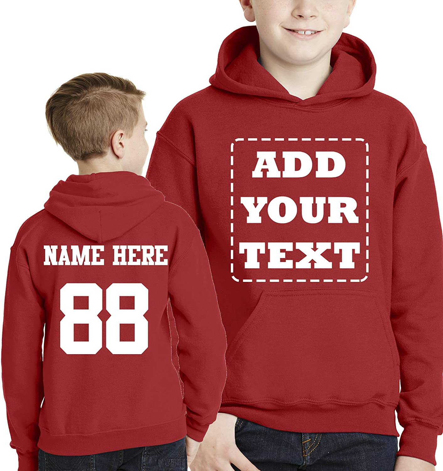 Custom Valentines Day Be Mine printed on mens /& youth hooded pullover sweatshirt