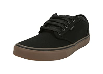Vans Unisex Shoes Atwood Black Gum Fashion Skate Sneakers (7.5 Men s  9  Women s 0ac9efe686