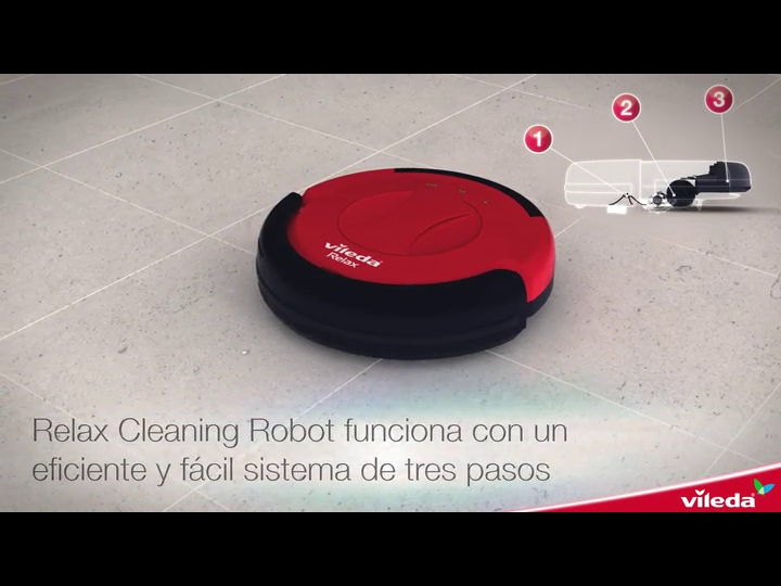 Vileda Relax Cleaning - Robot aspirador con doble sistema de ...