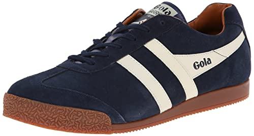 clearance nicekicks Gola Gola Harrier Suede Sneakers Navy/Ecru/Orange (EH) shop offer for sale 0VYBcc28ME