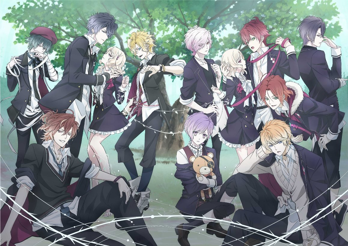 DIABOLIK LOVERS MORE,BLOOD 無神ルキ