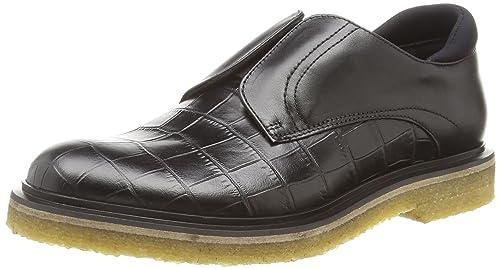 Hugo Boss Cassia 10185229 01 - Zapatillas de casa de Material sintético Mujer, Color Negro, Talla 42: Amazon.es: Zapatos y complementos