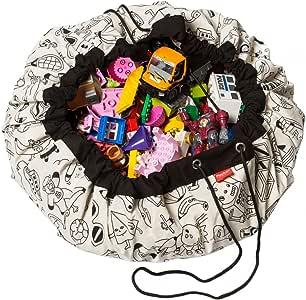 Play & Go Designer Collab Storage Bag, Color- Omy, Diameter- 140 cm