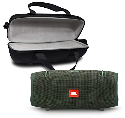 6f7c8b8f8 Amazon.com  JBL Xtreme 2 Portable Bluetooth Waterproof Speaker Bundle with  Hardshell Storage Case - Green  Home Audio   Theater